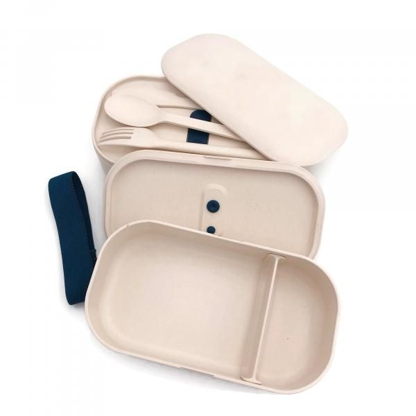 2-tier Lunch Box with Cutlery Set Household Products Kitchenwares IMG_0893