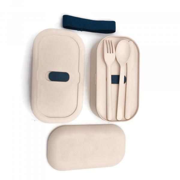 2-tier Lunch Box with Cutlery Set Household Products Kitchenwares IMG_0894