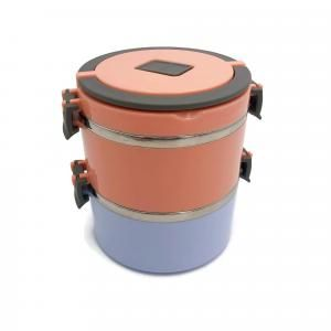 Round Thermos Tiffin Stainless Steel Lunch Box Household Products Kitchenwares New Products IMG_1039