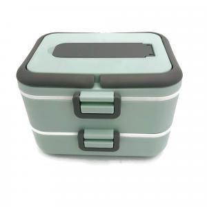 Easy Lock Double Layer Lunch Box with Spoon Household Products Kitchenwares New Products IMG_1034