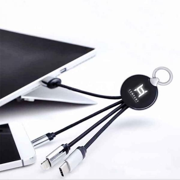 CC27A - 3 in 1 USB Cable Electronics & Technology New Products CC27ALEDLogo4in1CableThumbtech2