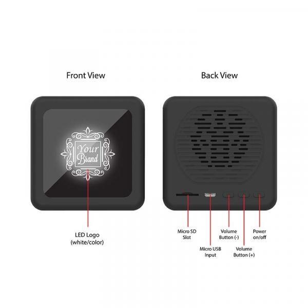 I-Blink Bluetooth Speaker Electronics & Technology New Products I-Blink-LEDLogoBluetoothSpeakerwithSubwoofer5