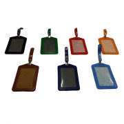 PU Card holder Portrait Small Leather Goods Card Holder Lanyards & Pull Reels New Products IMG_luggage