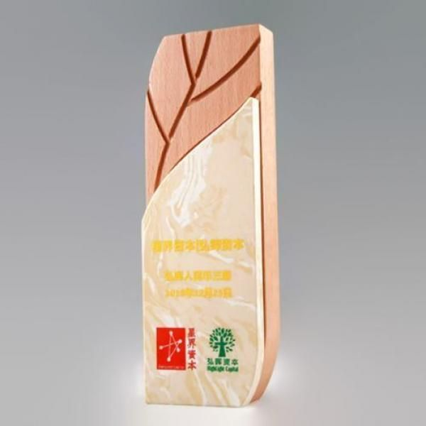 Ye Marble Wooden Awards Awards & Recognition Awards New Products AWC1199