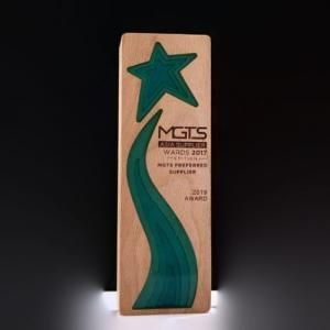 XingXing Wooden Awards Awards & Recognition Awards New Products AWC1205