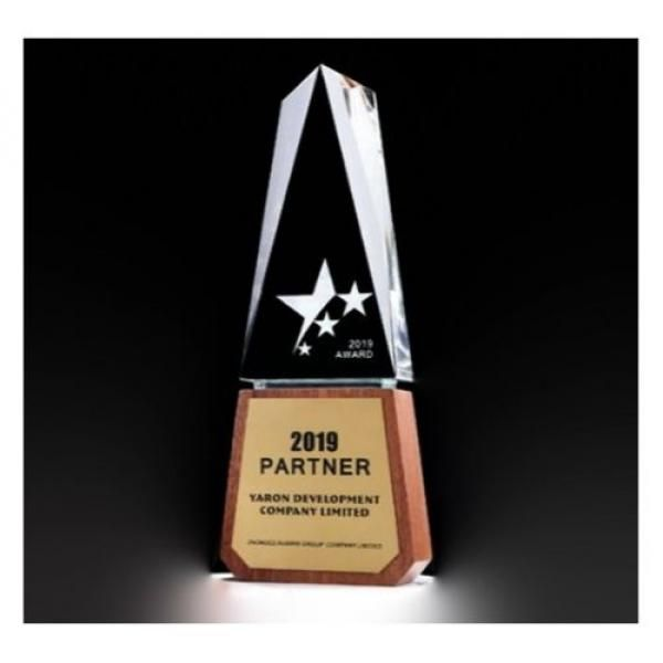 JianFeng Wooden Crystal Awards Awards & Recognition CRYSTAL New Products AWC1208