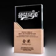 FenYong Wooden Crystal Awards Awards & Recognition CRYSTAL New Products AWC1211