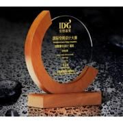 Cshape Wooden Crystal Awards Awards & Recognition CRYSTAL New Products AWC1217