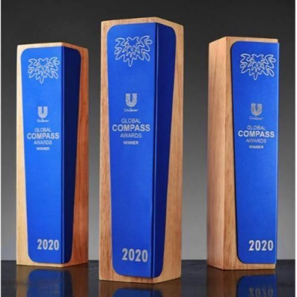 Blue Classic Wooden Awards Awards & Recognition Awards New Products AWC1221