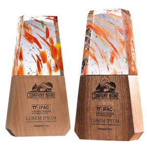 Cai Ti Crystal Wooden Awards Awards & Recognition CRYSTAL New Products AWC1226