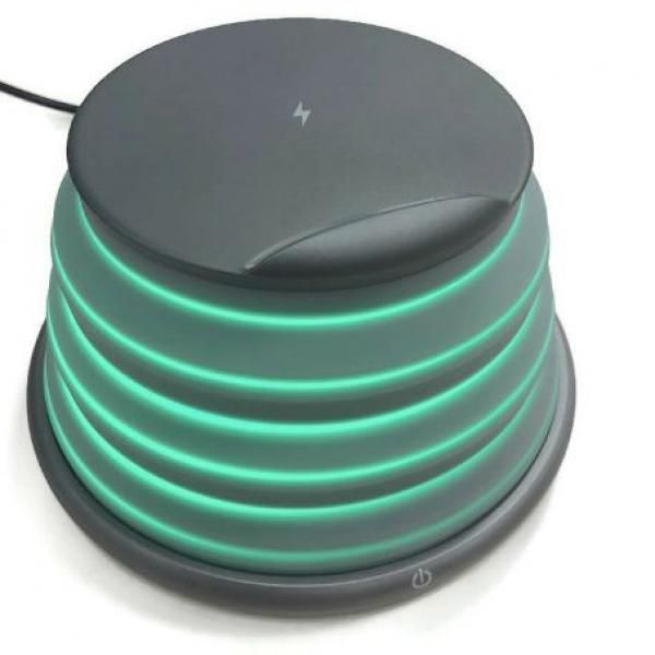 Night Light + Adjustable Wireless Charger Electronics & Technology New Products Capture