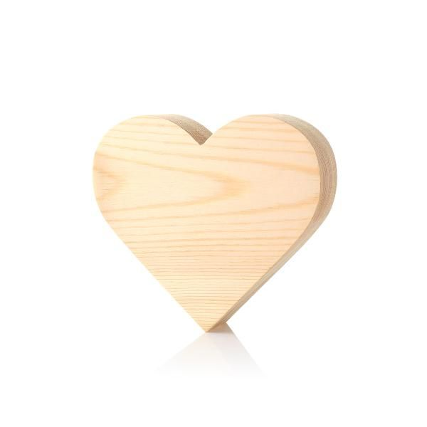 Wooden Heart Shape 3cm Awards & Recognition Awards AAO1010HD