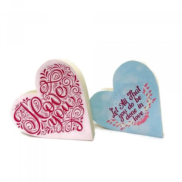 Wooden Heart Shape 3cm  2 side print Awards & Recognition Awards New Products Printing & Packaging AAO10103