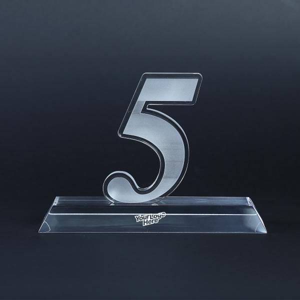 5 Years Acrylic Award Awards & Recognition Awards New Products AWA1000LogoHD