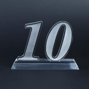 10 Years Acrylic Award Awards & Recognition Awards New Products AWA1001HD