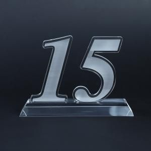 15 Years Acrylic Award Awards & Recognition Awards New Products AWA1002HD