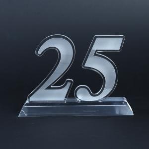 25 Years Acrylic Award Awards & Recognition Awards New Products AWA1004HD