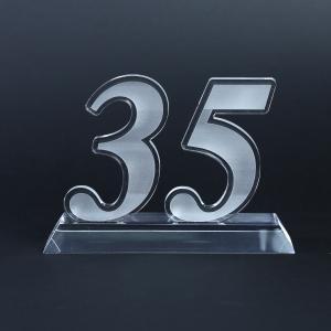 35 Years Acrylic Award Awards & Recognition Awards New Products AWA1005HD