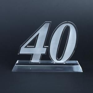 40 Years Acrylic Award Awards & Recognition Awards New Products AWA1006HD