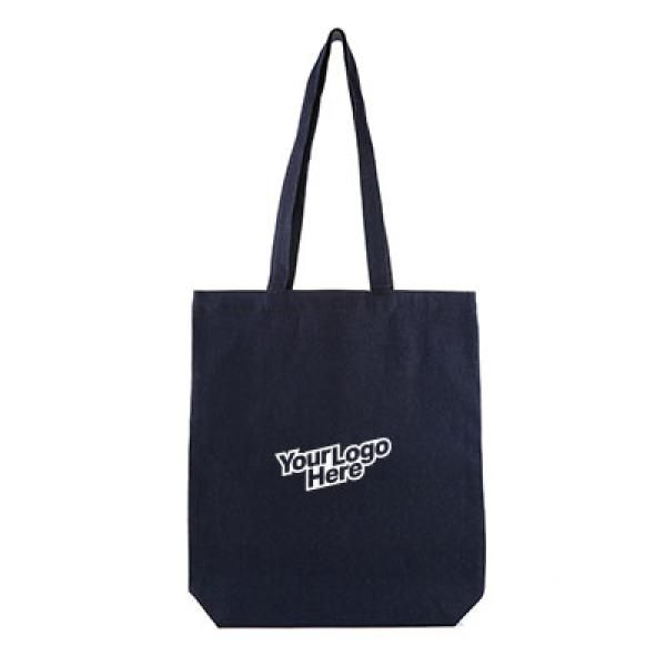 Denim A3 Tote Bag Tote Bag / Non-Woven Bag Bags NATIONAL DAY Earth Day Give Back TNW1037ThumbLogo