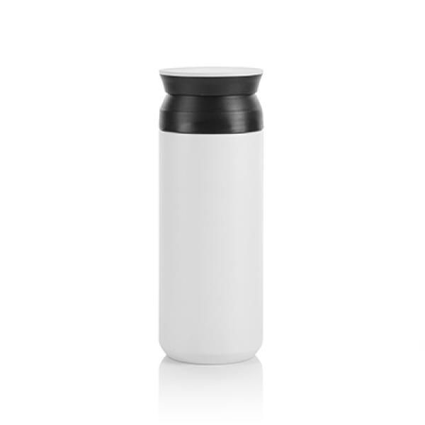 Portable Stainless Steel Travel Tumbler Household Products Drinkwares Eco Friendly HDT1021_WhiteThumb