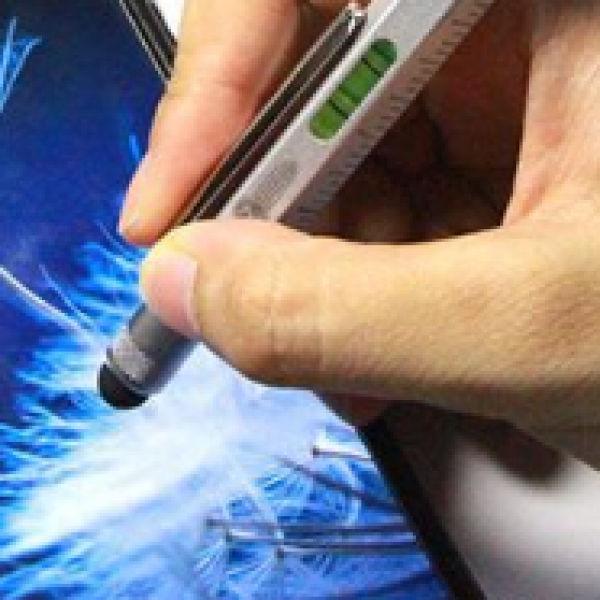 6in1 Multitasking Ballpoint Pen Office Supplies Pen & Pencils Metals & Hardwares New Products 6