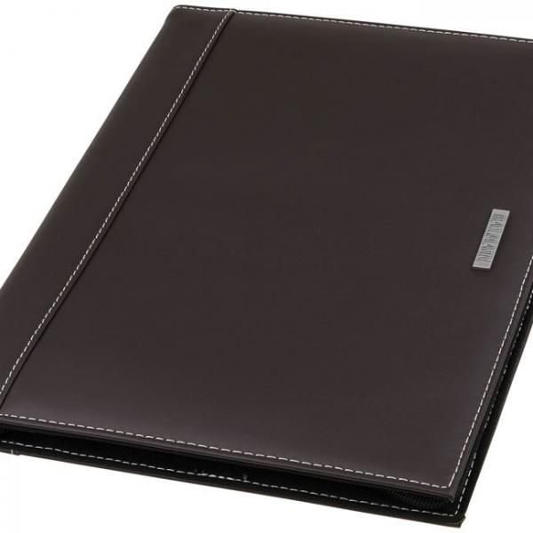 Millau A4 Zipper Leather Portfolio Small Leather Goods Office Supplies Leather Folder / Portfolio Other Leather Related Products Files & Folders Other Office Supplies Other Office Supplies LFO6001BRW