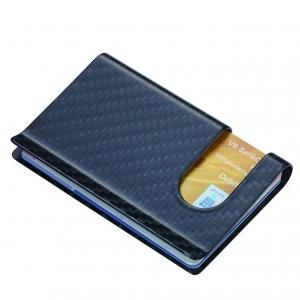 "Troika Credit card case ""CARBON CASE"" Office Supplies cca30cb"