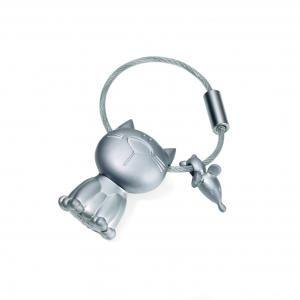 "Troika Keyring ""KATZ + MAUS"" Metals & Hardwares Keychains kr14-20ma"