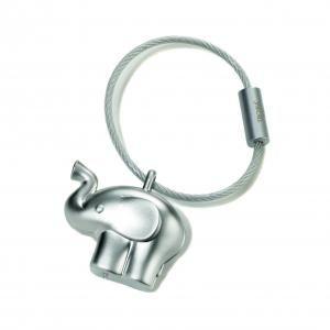 "Troika Keyring ""Little Elephant"" Metals & Hardwares Keychains kr14-01ma"