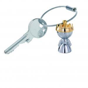 "Troika Keyring ""LITTLE QUEEN"" Keychains kr9-37ch"