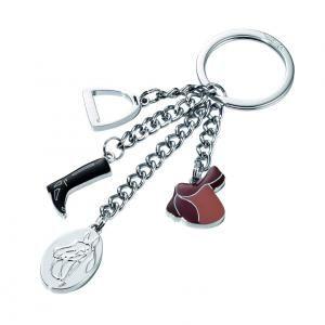 """Troika Keyring """"PFERDEGL Metals & Hardwares Keychains kr13-17ch"""