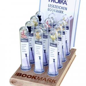 "Troika Counter display ""BOOKMARK DISPLAY TUBES"" Printing  Display & Signages cd125"
