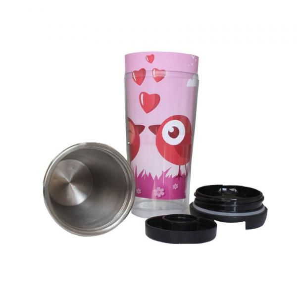 500ml Stainless Steel Paper Insert Tumbler Household Products Drinkwares New Products FG-352