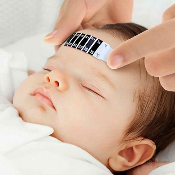 Reusable Thermometer Forehead Strip Personal Care Products Back To School KHT10043