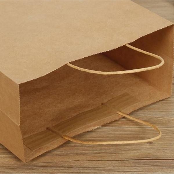 Kraft Paper Bag 15x8x21cm Other Bag Bags Food & Catering Packaging 2