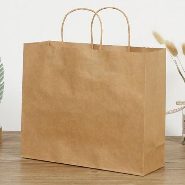 Kraft Paper Bag 21x11x27cm Other Bag Bags Food & Catering Packaging 3