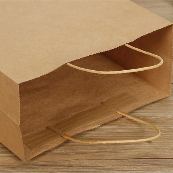 Kraft Paper Bag 21x14x26cm Other Bag Bags Food & Catering Packaging 2
