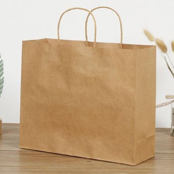 Kraft Paper Bag 21x14x26cm Other Bag Bags Food & Catering Packaging 3