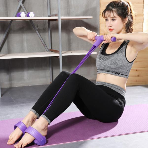 Sit-up Rally Yoga Resistance Band Recreation Stress Reliever rsf1001(4)