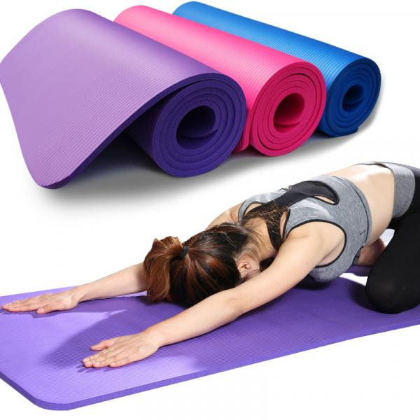 Non Slip Yoga Fitness Mat Recreation Stress Reliever Back To Work rsf1002
