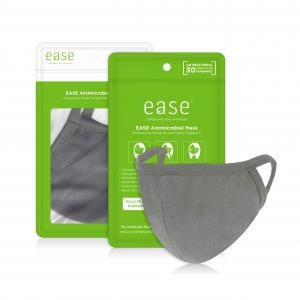 EASE Antimicrobial Reusable Kid Mask Retail Pack Personal Care Products EaseAntimicrobialMaskwithpackaging_Grey
