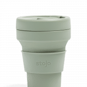 Stojo Pocket Collapsible Cup Soho 12oz Household Products Drinkwares sage1