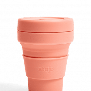 Stojo Pocket Collapsible Cup Spring 12oz Household Products Drinkwares apricot