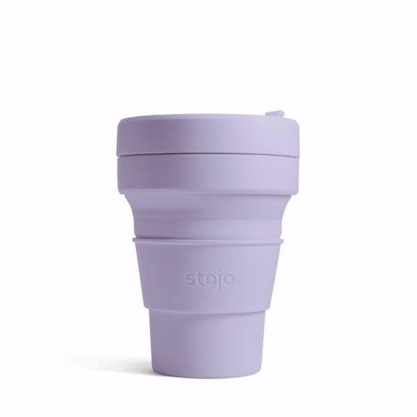 Stojo Pocket Collapsible Cup Spring 12oz Household Products Drinkwares lilac1