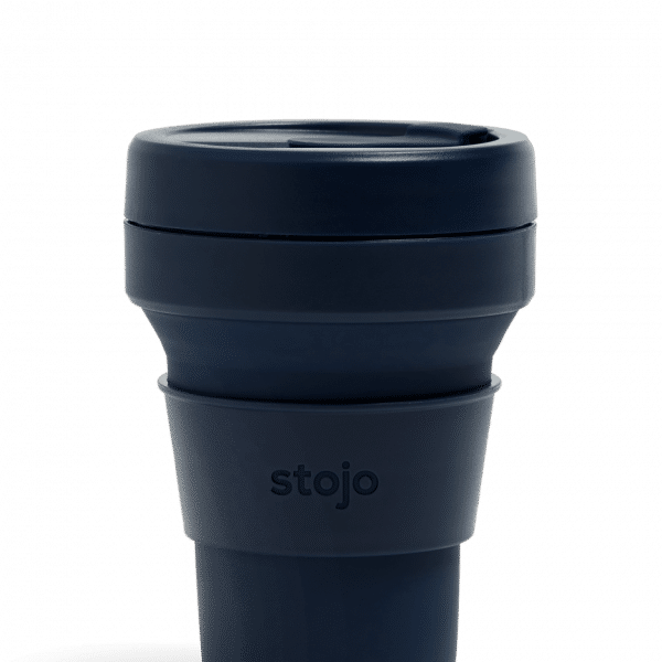 Stojo Pocket Collapsible Cup Tribeca 12oz Household Products Drinkwares denim1
