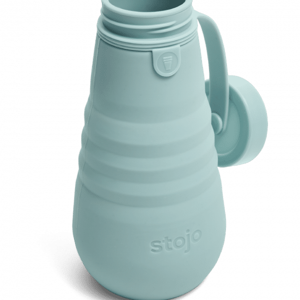 Stojo Collapsible Water Bottle 20oz Household Products Drinkwares aquamarine4