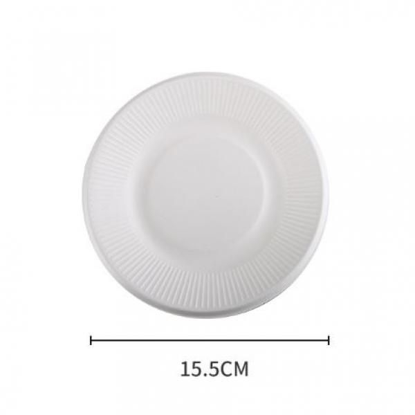 15.5cm Round Paper Plate Food & Catering Packaging FPB1000-2