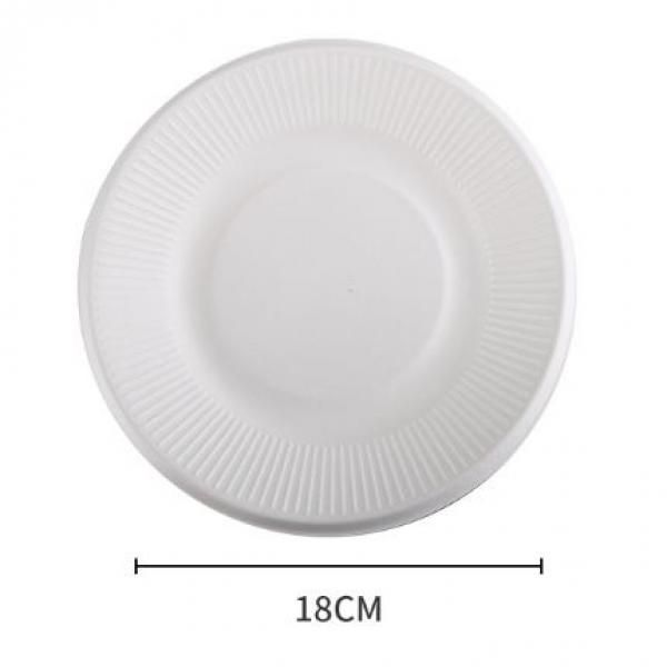 18cm Round Paper Plate Food & Catering Packaging FPB1001-1