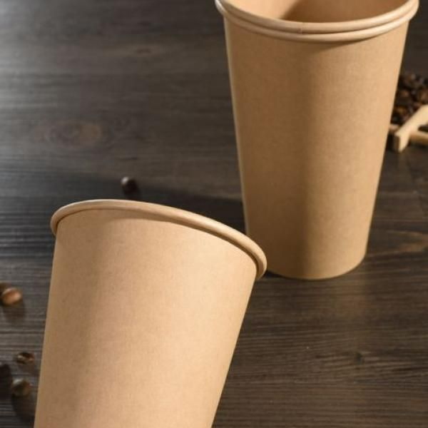 12oz Single Wall Kraft Paper Coffee Cup Food & Catering Packaging FUP1006FUP1007